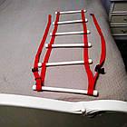 Поручень лестница с жесткими перекладинами, фото 5