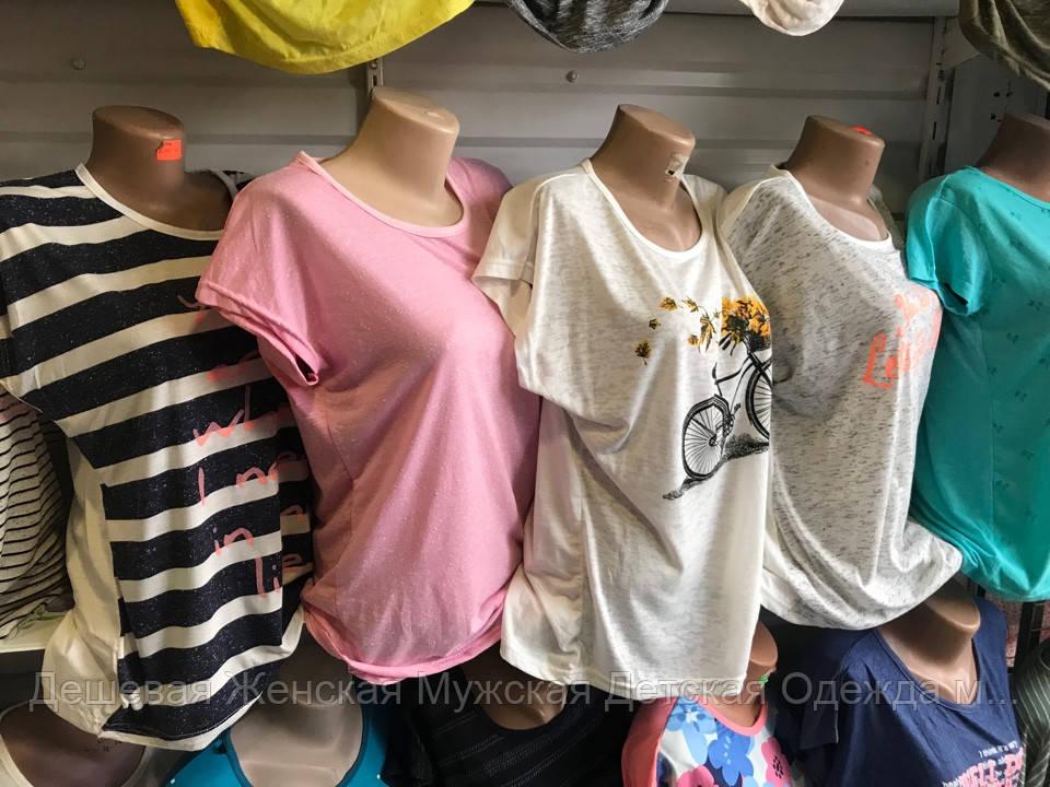 Жіноча футболка полубатал в асортименті Туреччина Diamor