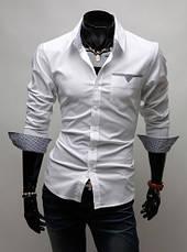 Стильная сорочка мужская, фото 3