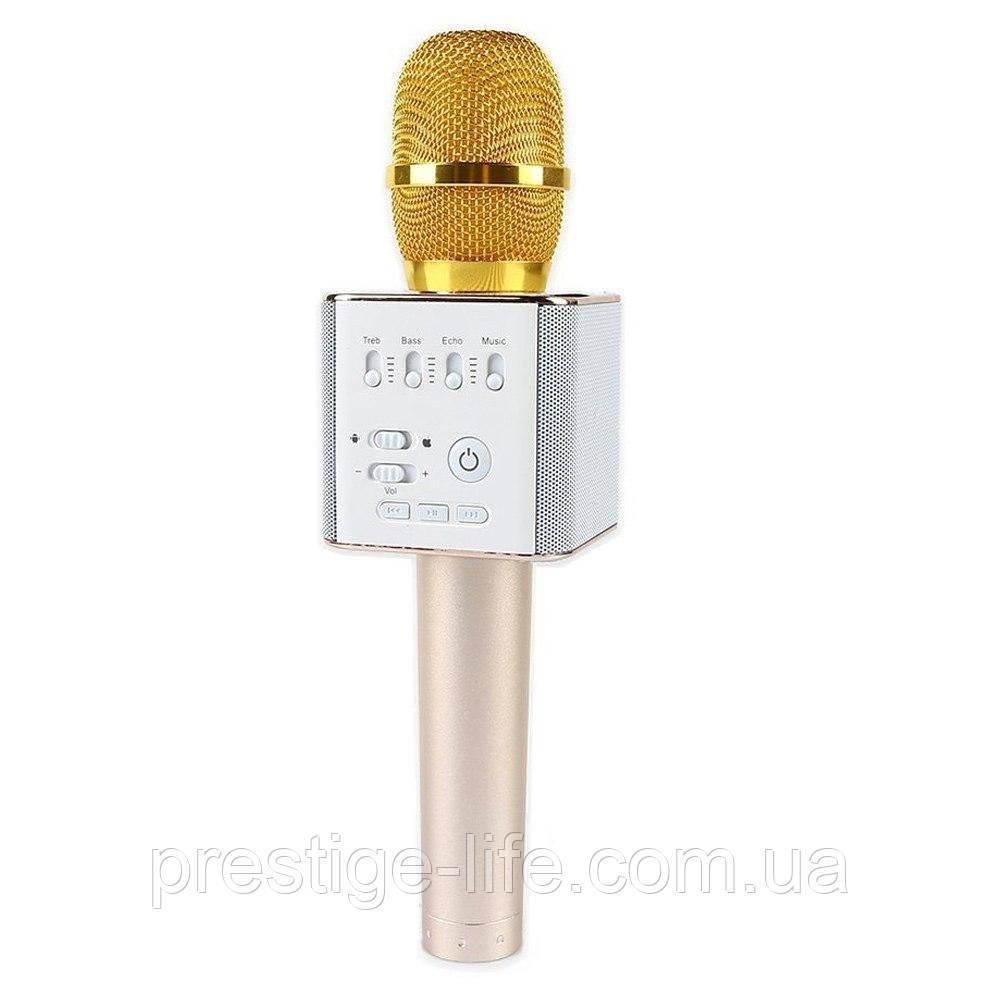 Караоке мікрофон Q9 Золотий