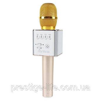 Караоке микрофон Q9 Золотой