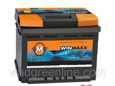 """Акумулятор WinMaxx 6СТ-62 Аз Kamina з планкою ( 62 Ач; 610 А; """"+"""" ліворуч)"""
