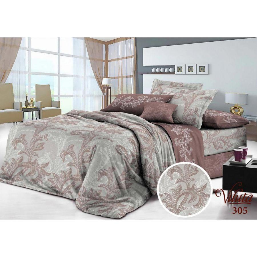 Комплект постельного белья семейный Viluta 305, сатин твил