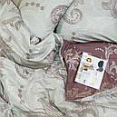 Комплект постельного белья семейный Viluta 305, сатин твил, фото 2