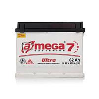 """Аккумулятор A-Mega (6 СТ-62-АЗ 610 А; """"+"""" слева ) Ultra M7"""