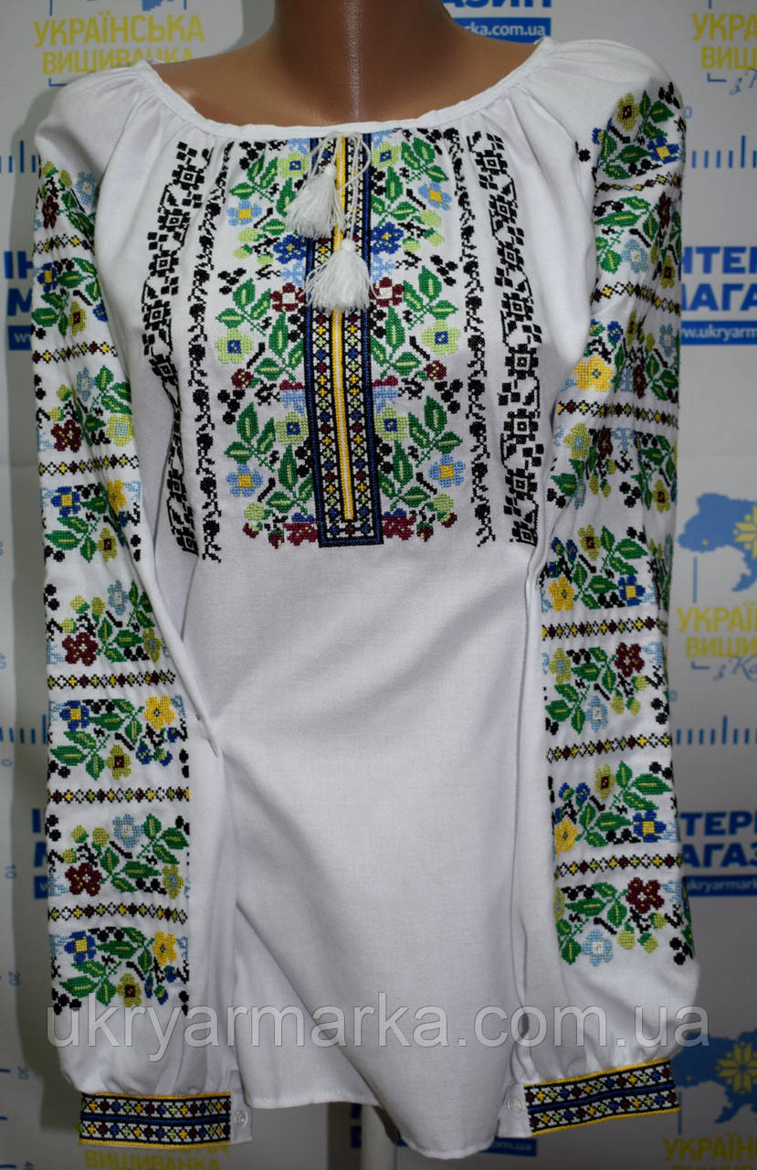 "Жіноча вишита блузка ""Богдана"""