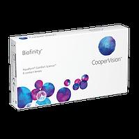Контактная линза Biofinity (1 месяц) 4 линзы Доставка бесплатная