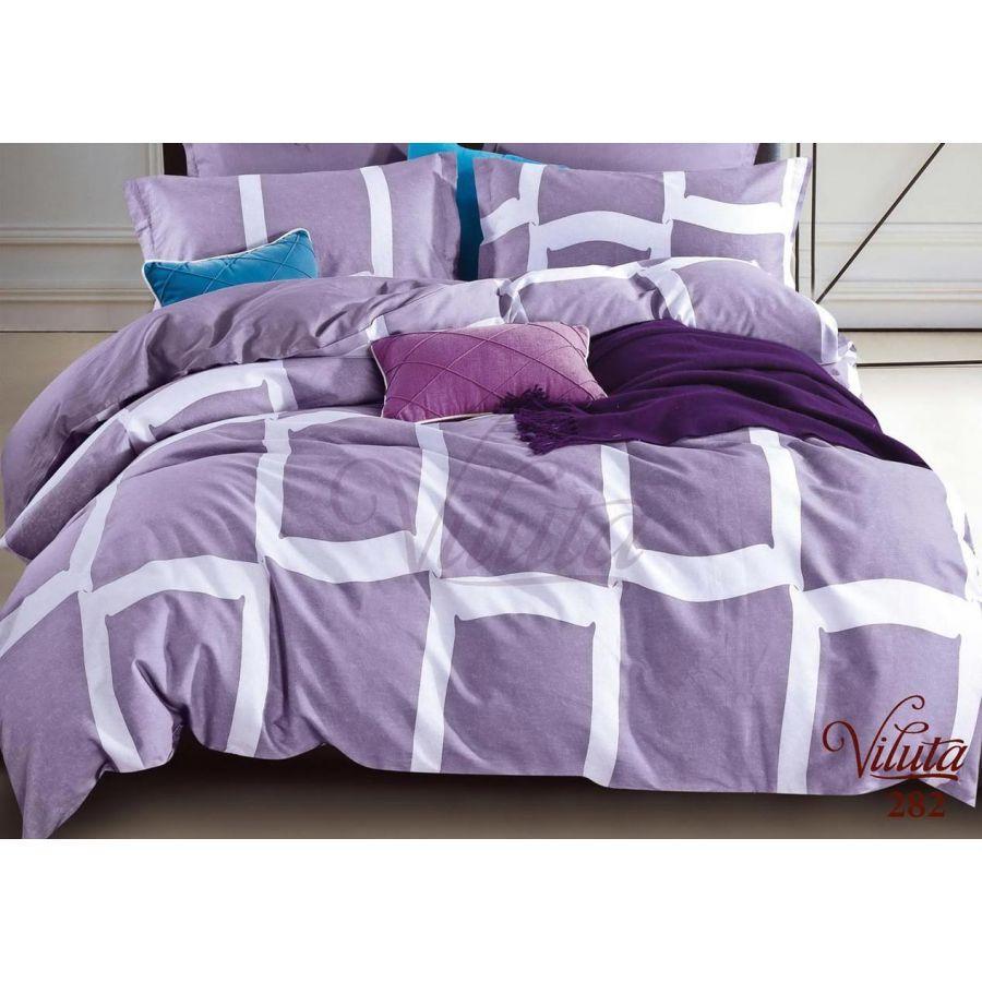 Комплект постельного белья семейный Viluta 282, сатин твил