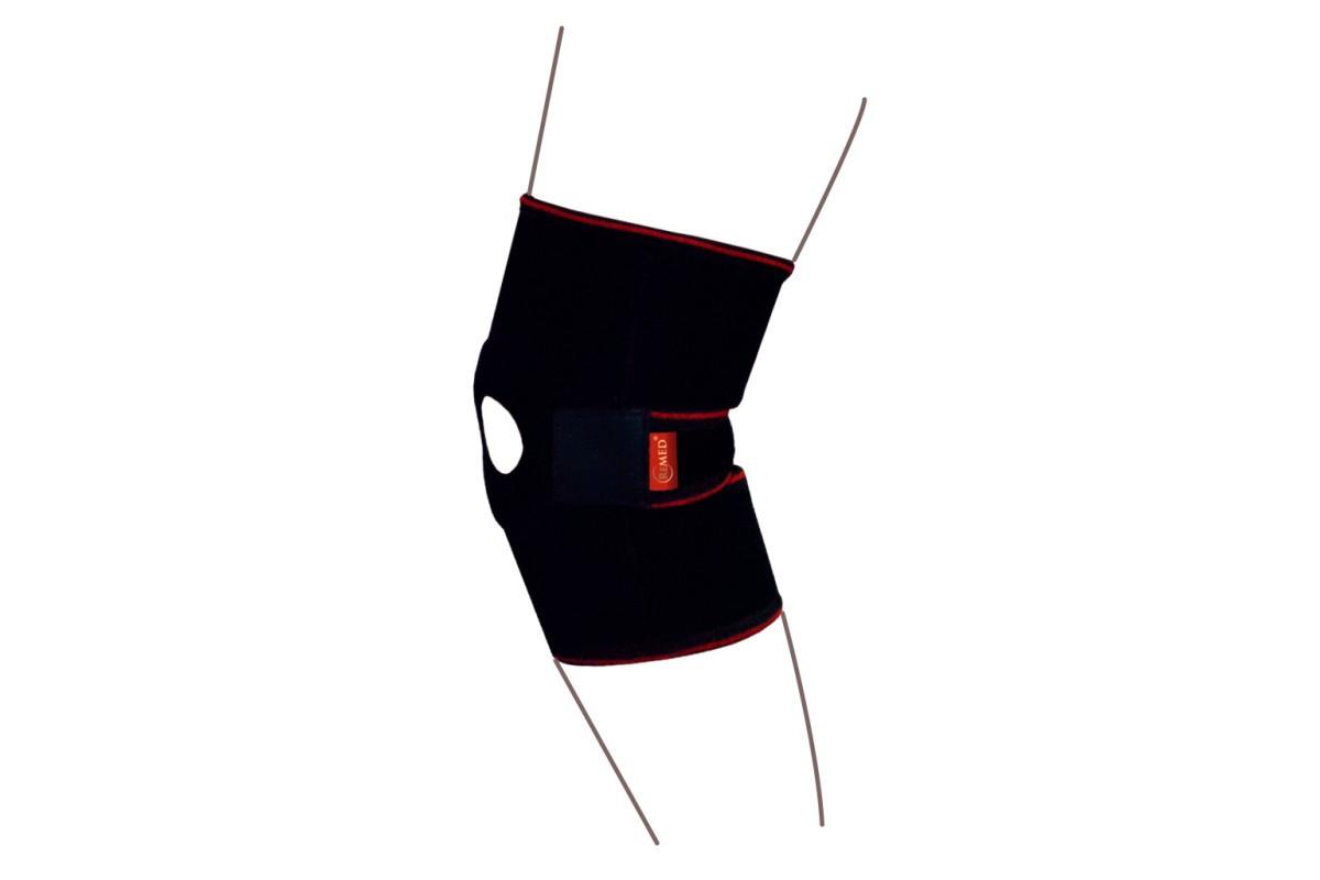 Бандаж на коленный сустав разъемный со спиральными ребрами жесткости R6201