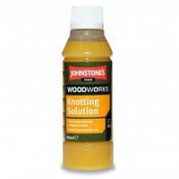 Грунтовка для дерева, покрытия сучьев, Джонстоун (Johnstone Knotting Solution) 0,25 л