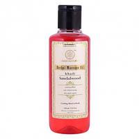Масло для массажа Сандал Кхади 210 мл (Sandalwood Massage Oil Khadi Natural)