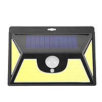 Светильник настенный на солнечной батарее с датчиком движения и индикатором зарядки уличный