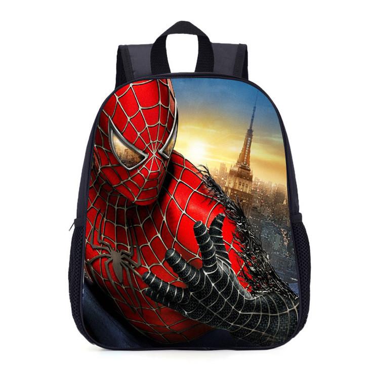 Шкільні рюкзаки для хлопчиків з принтом Spider-Man