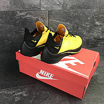 Мужские летние кроссовки Nike EXP-X14,текстильные,желтые, фото 2