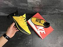 Мужские летние кроссовки Nike EXP-X14,текстильные,желтые, фото 3