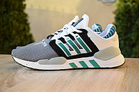 Мужские кроссовки Adidas Equipment 91/18  стильные качественные на низком ходу (серые), ТОП-реплика, фото 1