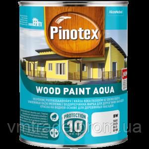 Краска фасадная для дерева, на водной основе, Пинотекс (Pinotex Wood Paint Aqua) 9 л