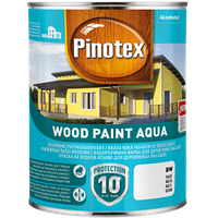 Краска фасаднаядля дерева, на водной основе, Пинотекс (Pinotex Wood Paint Aqua) 9 л