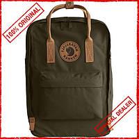 Рюкзак Fjallraven Kanken No.2 Laptop 15 л зеленый