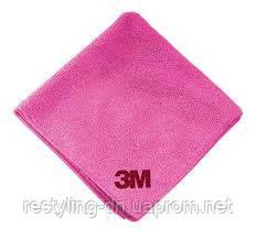 3M™ 50489 Розовая полировальная салфетка Ultra Soft, 36 х 32 см