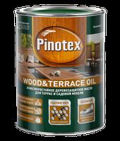 Масло для защиты террас и садовой мебели, Пинотекс (Pinotex Wood&Terrace Oil) 10 л
