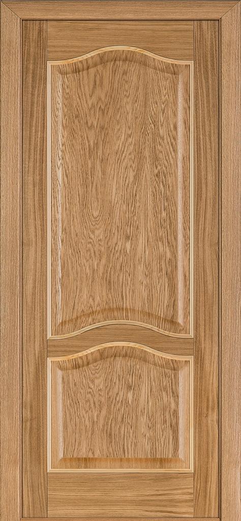Двери Classic 03, полотно, шпон, дуб светлый