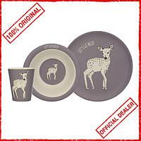 Набор детской посуды Creative Tops Into The Wild Deer 3 пр 5226220