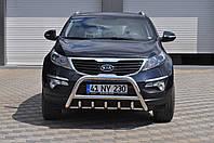 Защита переднего бампера (кенгурятник) Kia Sportage с 2010…, фото 1