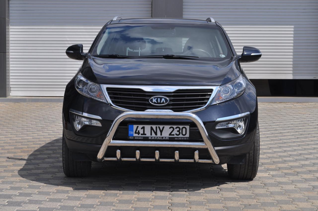 Защита переднего бампера (кенгурятник) Kia Sportage с 2010…
