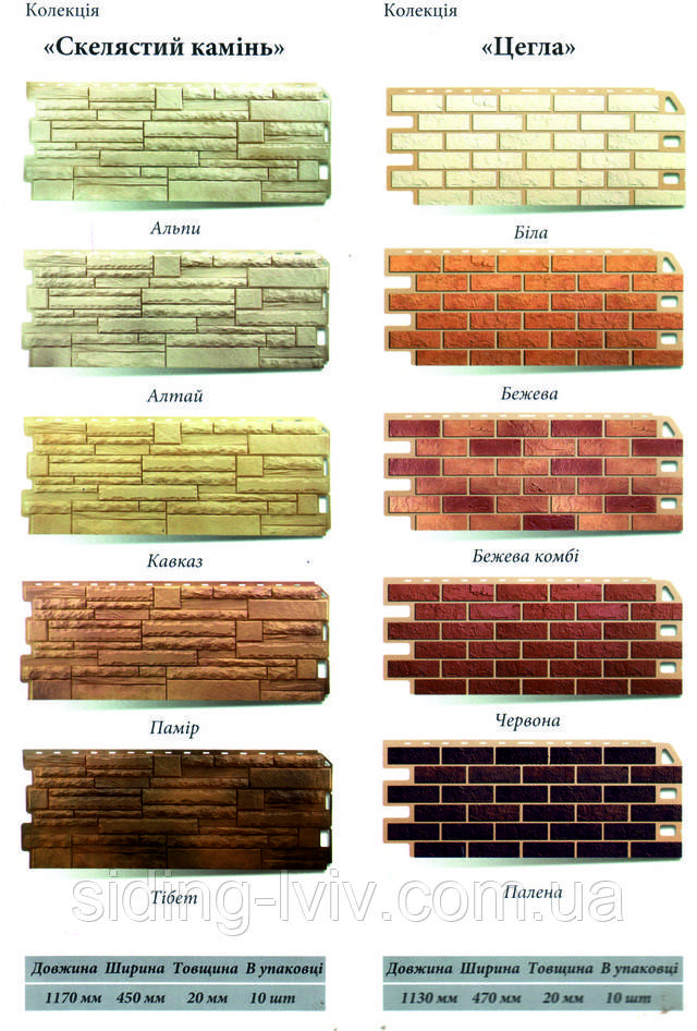"Фасадна панель ""Скалистий камінь"""