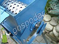 Бурякорезка ручная с шкивом под установку двигателя, свеклорезка купить недорого