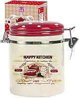 Ёмкость для сыпучих продуктов 1,2л S&T Happy Kitchen 631-11 S&T