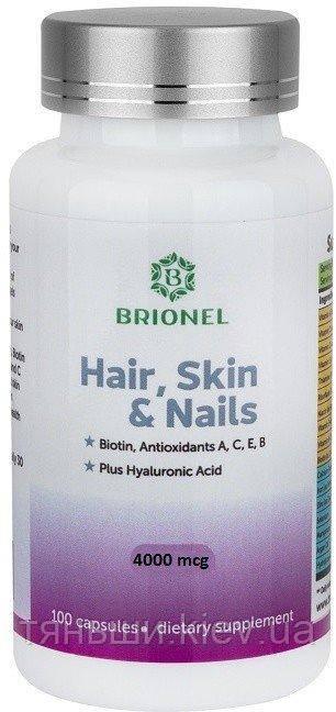 Кожа, волосы, ногти Брионель (100 капсул)