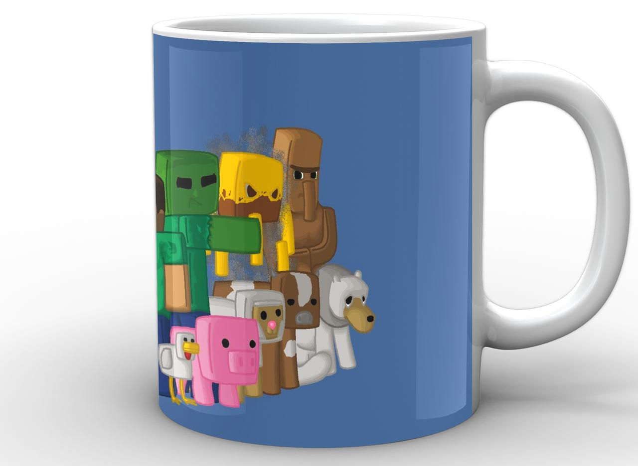 Кружка GeekLand Minecraft Майнкрафт арт MС.02.008