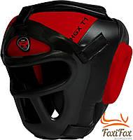 Тренировочный боксёрский шлем с сеткой