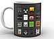 Кружка GeekLand Minecraft Майнкрафт постер MС.02.009, фото 3