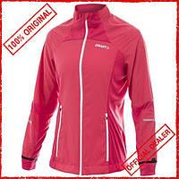 Ветровка женская Craft Performance Run Jacket розовая 1901317-2477