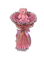"""Букет из игрушек """"Каприз""""  розовый"""
