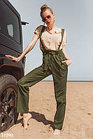 Эффектные просторные брюки. Бесплатная доставка