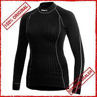 Термобелье женское Craft Warm Wool черное 194619-1999