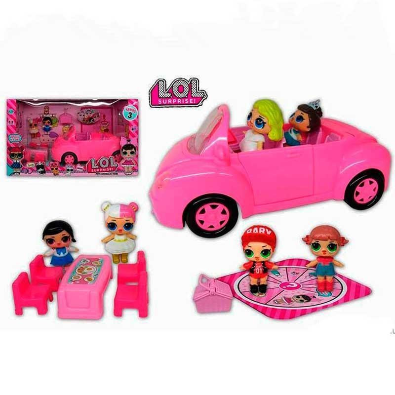 Набор с куклами ТМ 853 Автомобиль, кукла с аксессуарами