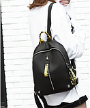 Рюкзак женский черно-желтый Up-To-Date, фото 6