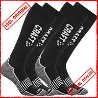 Носки Craft Warm Multi 2-Pack High черные 1902345-9980