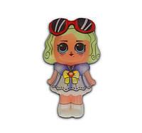 Сквиш кукла Лол с очками