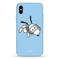 Накладка для iPhone X/iPhone XS пластик Pump Tender Touch Case Shoopy