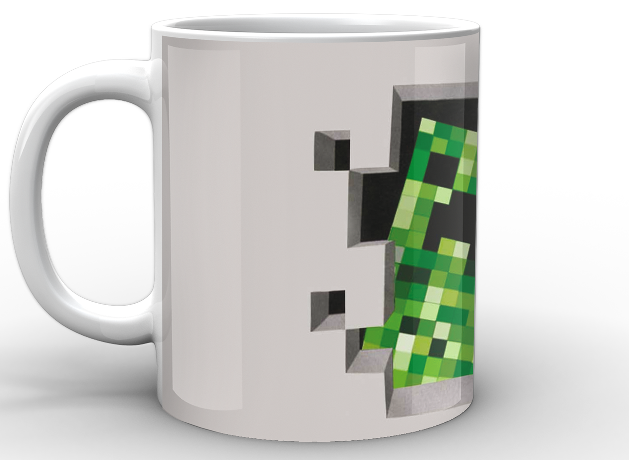 Кружка GeekLand Minecraft Майнкрафт крипер MС.02.022