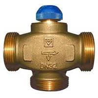 Трехходовой термостатический клапан HERZ CALIS-TS-RD, розпредиление потоков к 100% DN 25