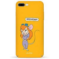 Накладка для iPhone 7 Plus/iPhone 8 Plus пластик Pump Tender Touch Case Beregi Rezbu