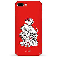Накладка для iPhone 7 Plus/iPhone 8 Plus пластик Pump Tender Touch Case Dalmatians