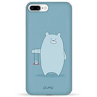 Накладка для iPhone 7 Plus/iPhone 8 Plus пластик Pump Tender Touch Case Double Bear